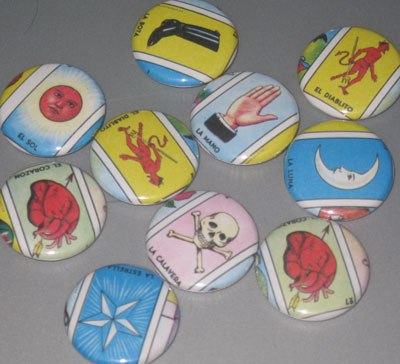 Loteria Buttons